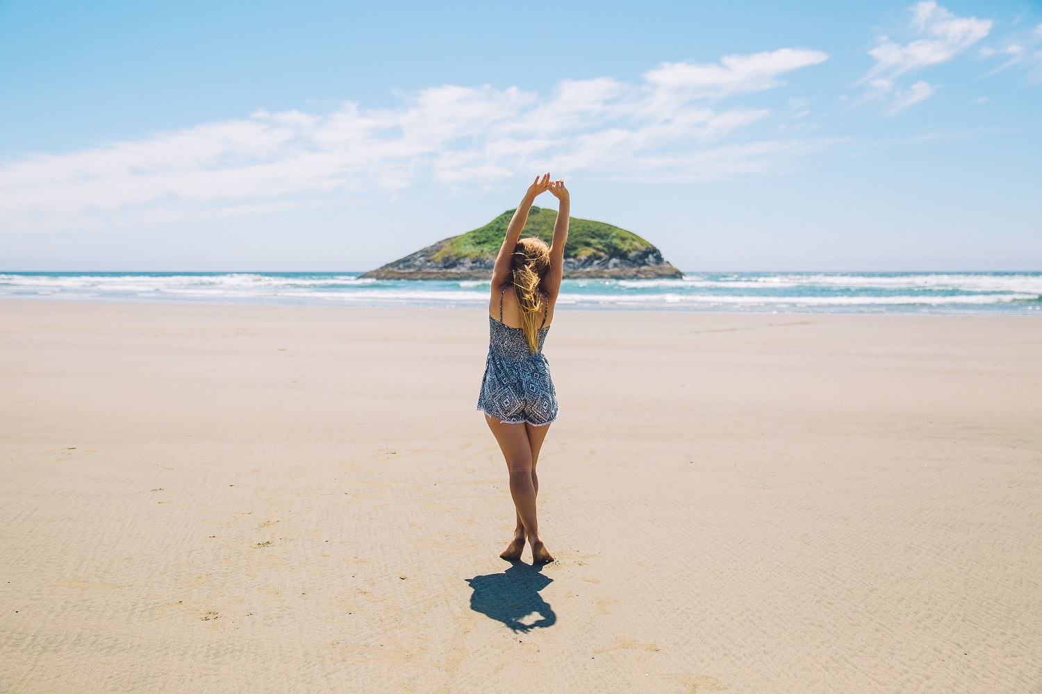 Visit the beach is good for Mental Health