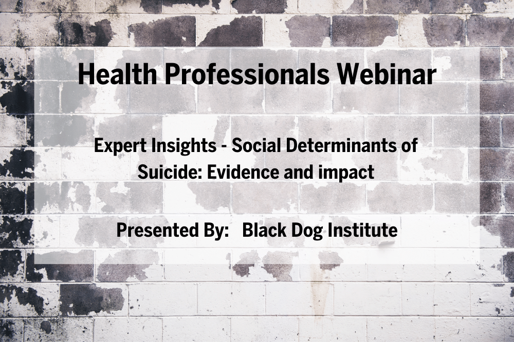 Expert Insights - Social Determinants of Suicide: Evidence and impact