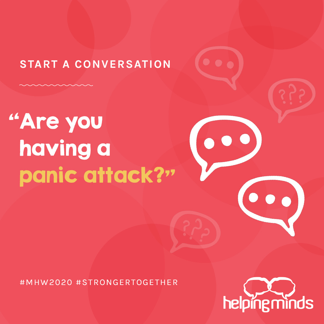 MENTAL HEALTH WEEK 2020: HOW TO HELP SOMEONE IN DISTRESS