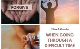 When Going Through a Difficult Time